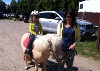 Ponyreiten in Malchow